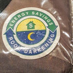"NWT Energy Saving 1 Lined Window Panel/Scarf, 144"""